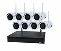 WiFi Plug And Play Kit 8 2MP cameras + WiFi NVR