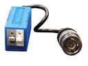 Video balun for analog/AHD camera with protection