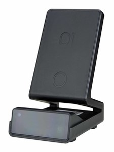 Phone dock charger camera with DVR and WiFi.